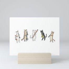Reed Meowtet Mini Art Print