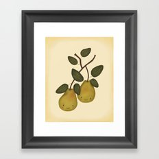 The Happy Pear Framed Art Print