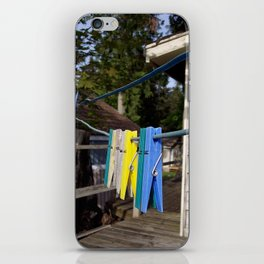 Hang your own laundry iPhone Skin