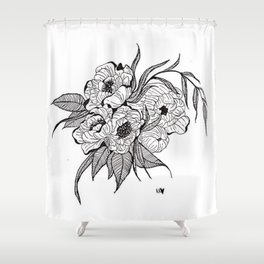 You`re Too Close Shower Curtain