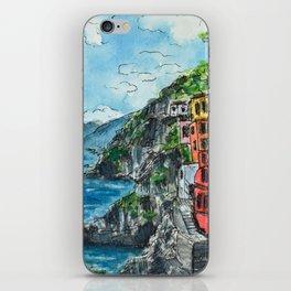 Viareggio, Cinque Terre iPhone Skin