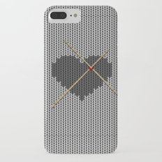 Original Knitted Heart Design iPhone 7 Plus Slim Case