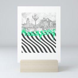 It shows the famous Gendarmenmarkt design Mini Art Print