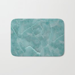 Ice Green Marble Badematte