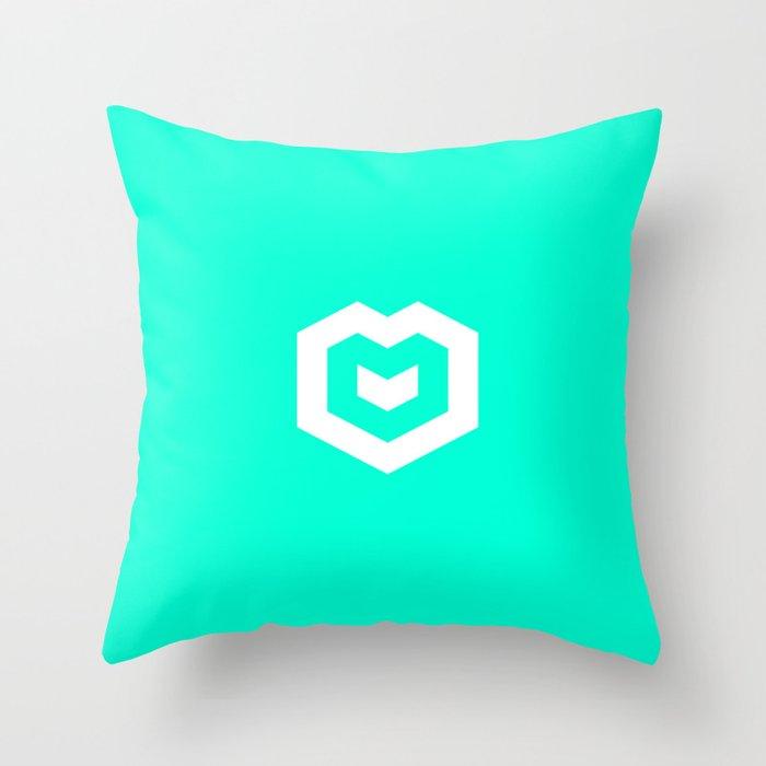 Spires logo Throw Pillow