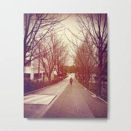 Walk Metal Print