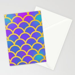 Gold Mermaid Stationery Cards