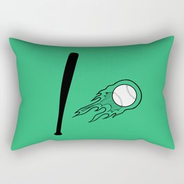 Bassball Rectangular Pillow