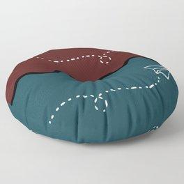 Paper Plane Floor Pillow