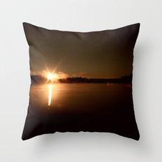 Sky Fills With Light Throw Pillow