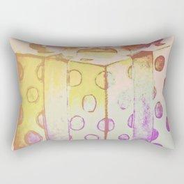 Rainbow Christmas Rectangular Pillow