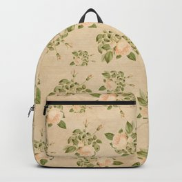 Floral Vintage Backpack