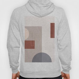 geometric abstract 126 Hoody