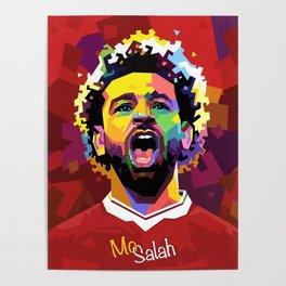 Mo Salah WPAP Poster