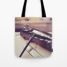 pen and ink Tote Bag