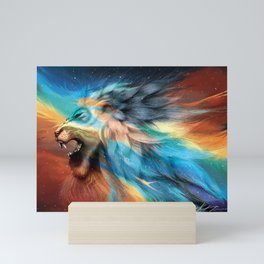 Shiloh - Lion of Judah Mini Art Print