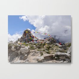 Tribute to Fallen Climbers Metal Print