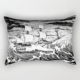 Galleon (line) Rectangular Pillow