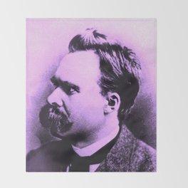 Nietzsche Baba Throw Blanket