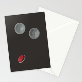 With These Buttons I Am a Space Fighter Stationery Cards
