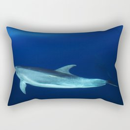 Dolphin and blues Rectangular Pillow
