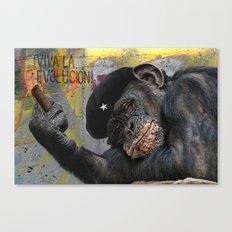 Viva La Evolución! Canvas Print