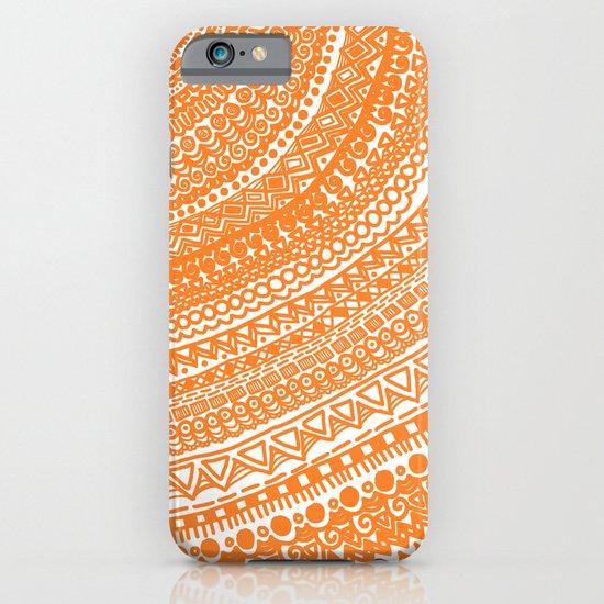 Orange Pulse o3. iPhone & iPod Case
