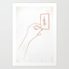 The Emotional Light Switch Art Print