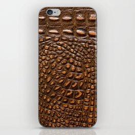 Alligator skin texture iPhone Skin