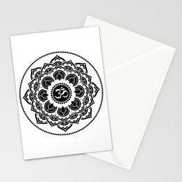 Black and White Mandala | Flower Mandhala Stationery Cards