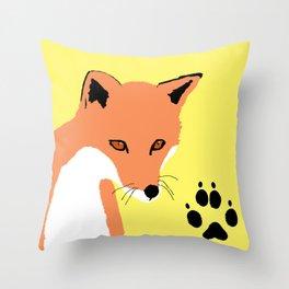 Fox Throw Pillow