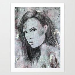 Sarah Art Print