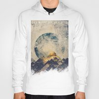 landscape Hoodies featuring One mountain at a time by HappyMelvin