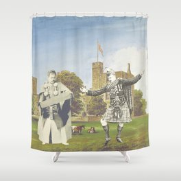 CAN YOU DANCE LIKE ME Shower Curtain