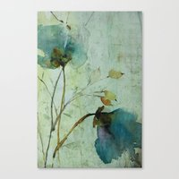 aelwen Canvas Prints featuring heavenly blue by beautifyprints