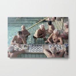 Budapest Bathhouse Metal Print