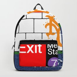 NYC Mets Subway Backpack
