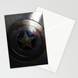 CAPTAIN AMERICA'S SHIELD Stationery Cards