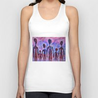 family Tank Tops featuring Family by teddynash