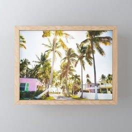 key west village Framed Mini Art Print