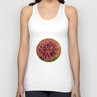 dahlia Tank Tops featuring Dahlia  by maggs326