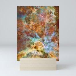 Mystic Mountains - Carina Nebula Astronomy Image Mini Art Print