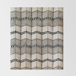 Systematic Waves Throw Blanket