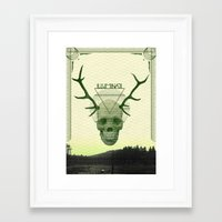 illuminati Framed Art Prints featuring IlluminatI by Tommy Cash