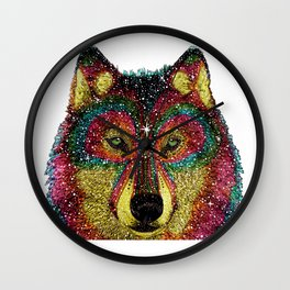 MoonWolf  Wall Clock