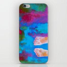 Pés iPhone Skin