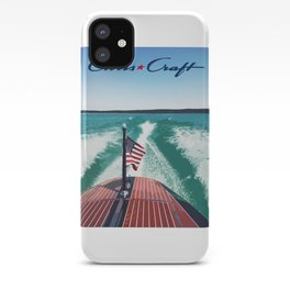 Chris Craft Boating iPhone Case
