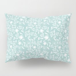 A Saunter on the Green Pillow Sham
