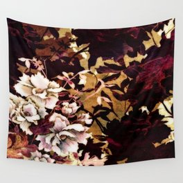 Tropical Blaze Floral Print Wall Tapestry