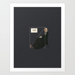 NOT Whistler's Mother Art Print